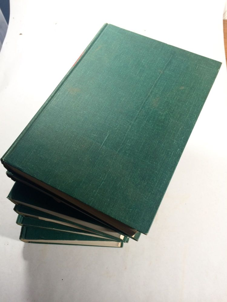 The Sea: Ideas and Observations on Progress in the Study of the Seas (6 Volume Set). Arthur E. Maxwell.