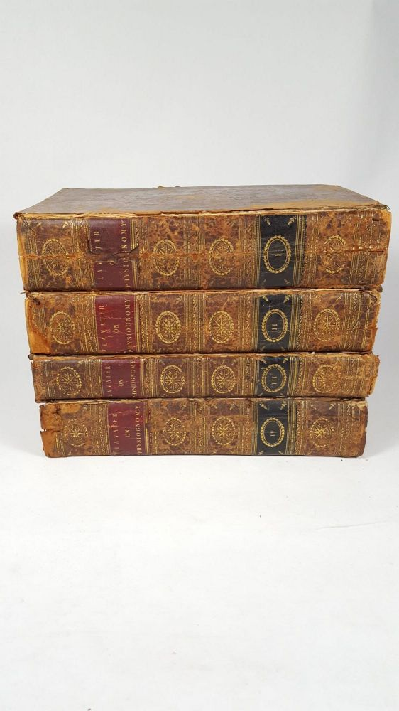 Essays On Physiognomy; for the Promotion of the Knowledge and the Love of Mankind, (4 Volumes). Thomas Holcroft John Caspar Lavater.