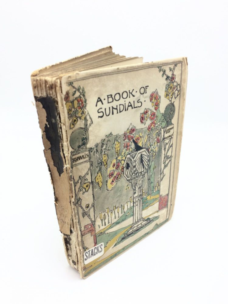 The Book of Old Sundials & Their Mottoes. Warrington Hogg Alfred Rawlings.
