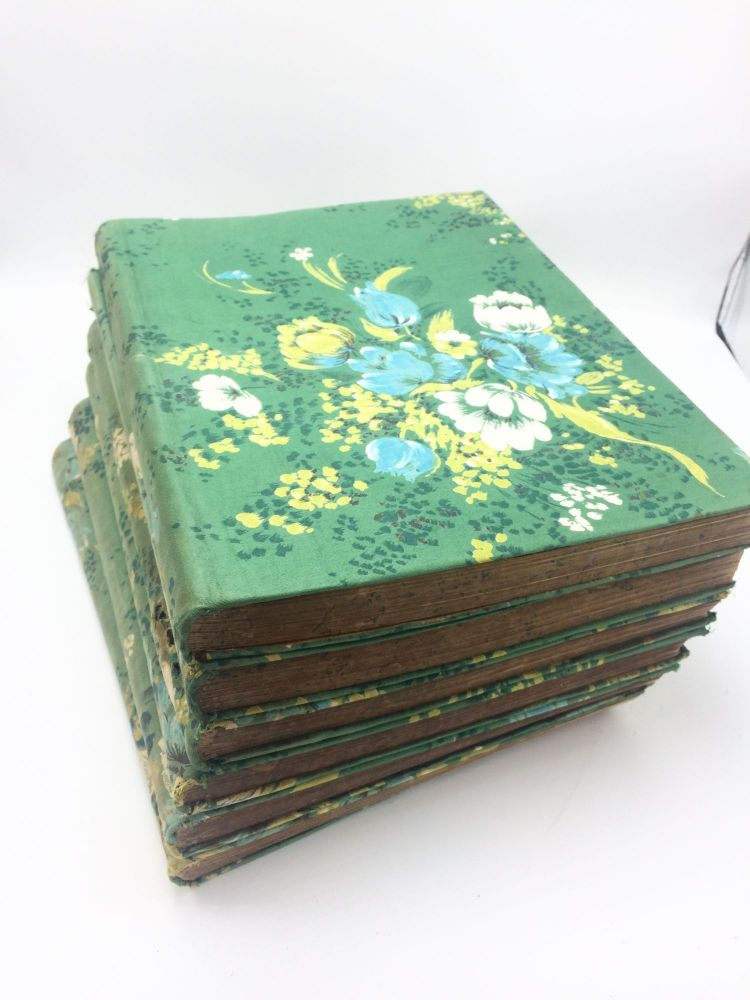 The Poetical Works of Henry Wadsworth Longfellow, 6 volume set in interesting binding. Henry Wadsworth Longfellow.