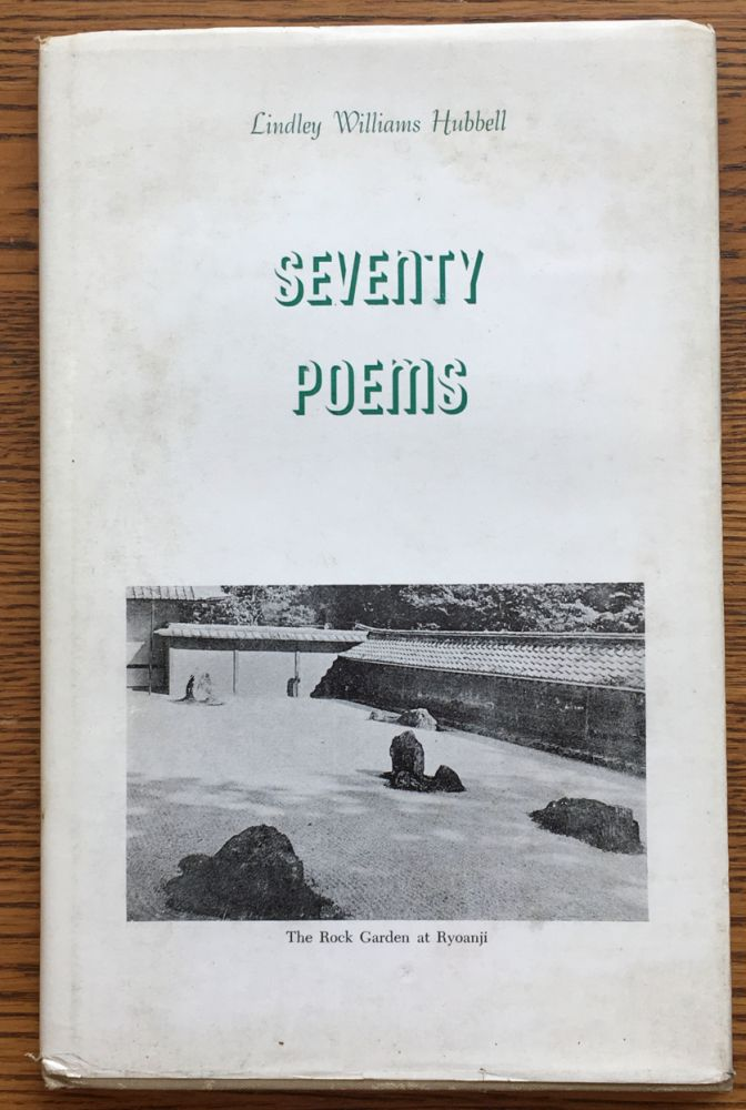 Seventy Poems. Lindley Williams Hubbell.