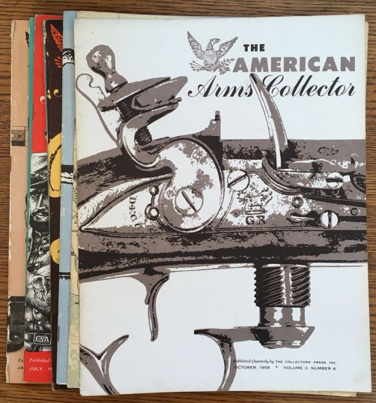 The American Arms Collector, complete run of 8 issues, Volume 1, Nos  1-4  and Volume 2, Nos  1-4 by Hugh Benet Jr  on Shadyside Books