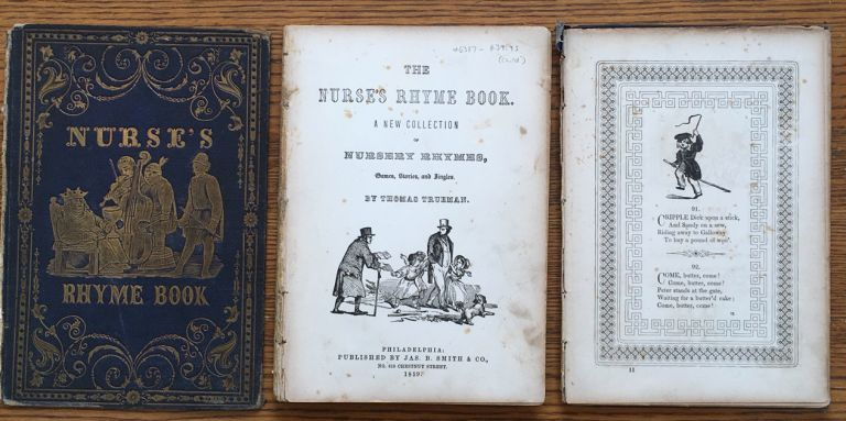 The Nurse's Rhyme Book: A New Collection of Nursery Rhymes, Games, Stories and Jingles. Thomas Trueman.