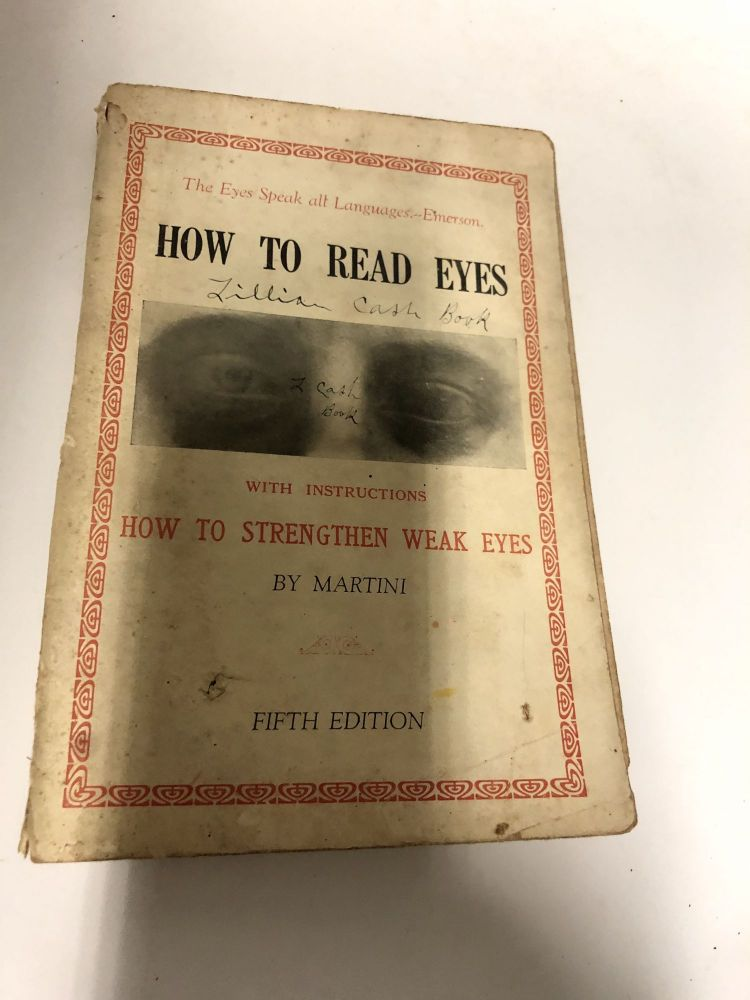 How To Read Eyes. Martini.