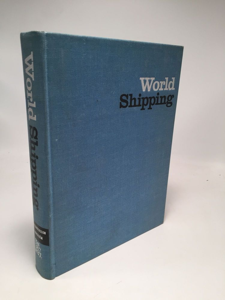 World Shipping: An Economic Geography of Ports and Seaborne Trade. Göran Norström Gunnar Alexandersson.