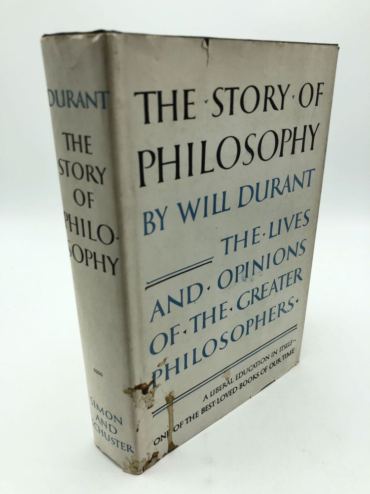 The Story of Philosophy. Will Durant.