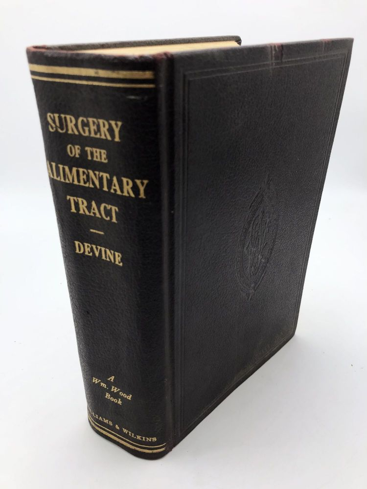 The Surgery of the Alimentary Tract. Sir Hugh Devine.