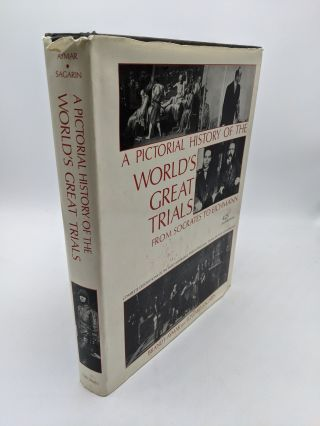 A Pictorial History of World's Greatest Trials - From Socrates to Eichmann. Brandt Aymar, Edward...