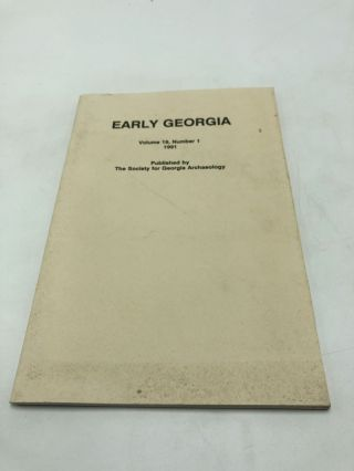 Early Georgia