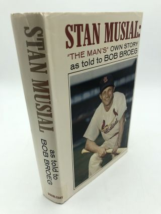 Stan Musial: The Man's Own Story. Bob Broeg