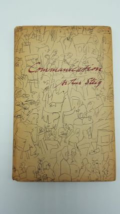 Communication And Other Poems. Arthur Steig
