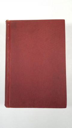 The Lewellys F. Barker Festschrift, In Honor Of His Sixty-Fourth Birthday On September 16th 1931