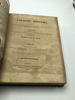 The Ancient History Of The Egyptians, Carthaginians, Assyrians, Babylonians, Medes & Persians, Macedonians, and Grecians (2 Volumes)