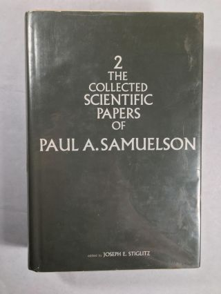 The Collected Scientific Papers Of Paul A. Samuelson (3 Volumes)