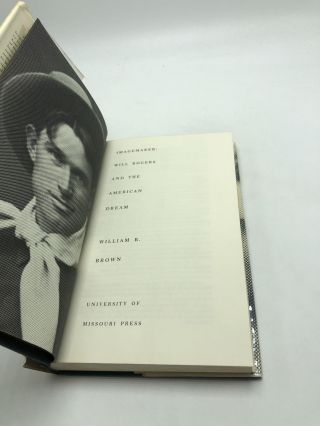 Imagemaker: Will Rogers And The American Dream