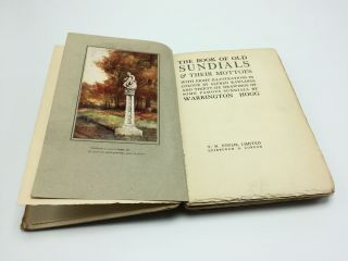 The Book of Old Sundials & Their Mottoes
