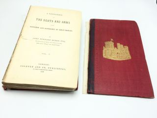 A Visitation Of The Seats And Arms Of The Nobleman And Gentleman Of Great Britain, Volume I only....