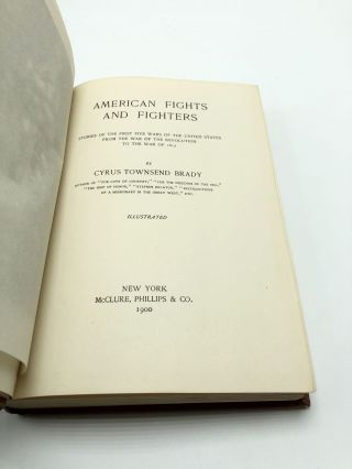 American Fights and Fighters: Stories of the First Five Wars of the United States from the War of the Revolution to the War of 1812