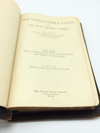 The System Bible Study