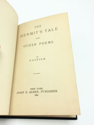 The Hermit's Tale