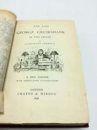 The Life of George Cruikshank in Two Epochs