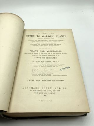 A Practical Guide to Garden Plants Containing Descriptions of the Hardiest and Most Beautiful Annuals and Biennials Hardy Herbaceous and Bulbous Perennials Hardy Water and Bog Plants Flowering and Ornamental Trees and Shrubs Conifers; Hardy Ferns; Hardy Bamboos and Other Ornamental Grasses
