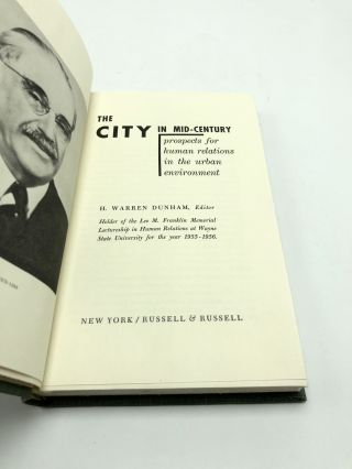 The City in Mid-Century: Prospects for Human Relations in the Urban Environment
