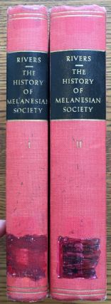 The History of Melanesian Society, in Two Volumes (Percy Sladen Trust Expedition to Melanesia)....