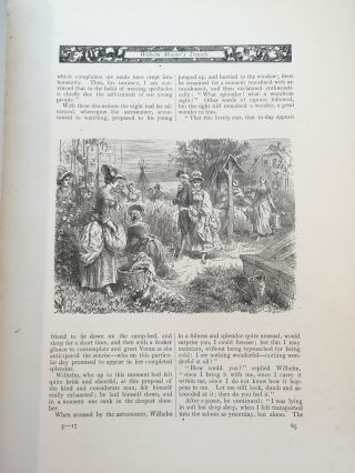 Wilhelm Meister's Travels -- Goethe's Works Illustrated by the best German Artists, Volume IX