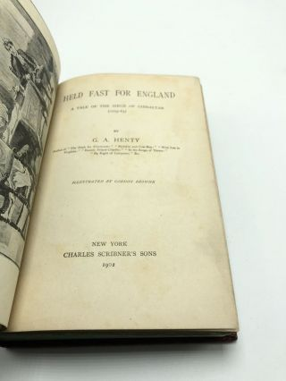 Held Fast for England A Tale of The Seige of Gibraltar