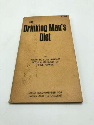 The Drinking Man's Diet. Gardner Jameson, Elliott Williams