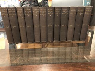 History Of England From The Death Of Elizabeth (12 Volumes Complete). James Anthony Froude