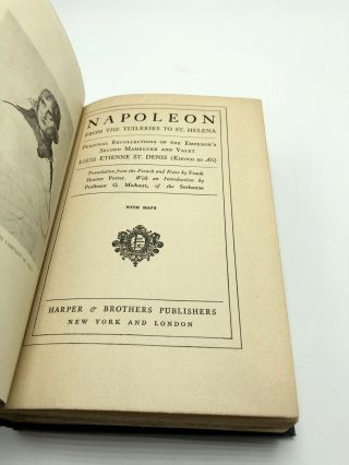 Napoleon From the Tuileries to St. Helena