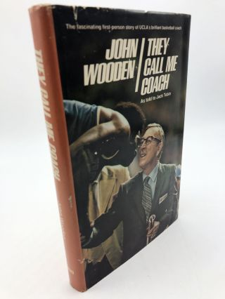 John Wooden: They Call Me Coach. Jack Tobin