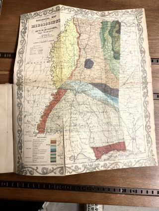 Report on the Geology and Agriculture of the State of Mississippi