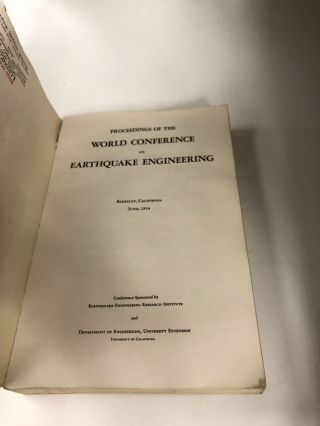 Proceedings of the World Conference on Earthquake Engineering