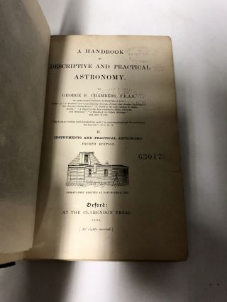 A Handbook of Descriptive and Practical Astronomy. (3 Volumes) Volume I. The Sun, Planets, and Comets; Volume II. Instuments and Practical Astronomy; Volume III. The Starry Heavens
