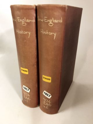 The New England History, From the Discovery of the Continent by the Northmen, A.D. 986, to the...
