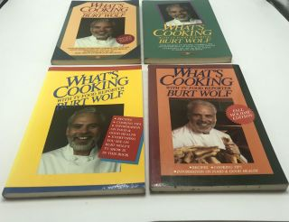 What's Cooking (4 Volumes). Burt Wolf