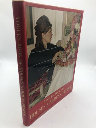 Vogues' Book Of Houses, Gardens, People. Valentine Lawford Diana Vreeland, text, fwd