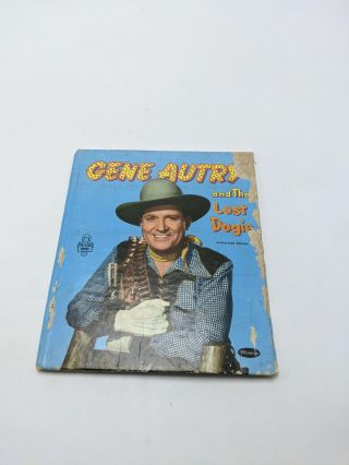Gene Autry and the Lost Dogie