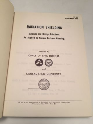 Radiation Shielding: Analysis and Design Principles As Applied To Nuclear Defense Planning.