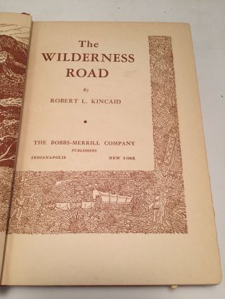 The Wilderness Road