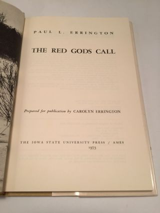 The Red Gods Call