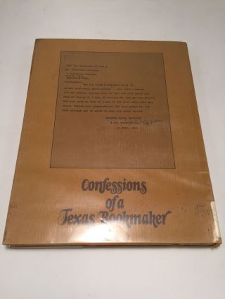 Audubon and Other Capers: Confessions of a Texas Bookmaker