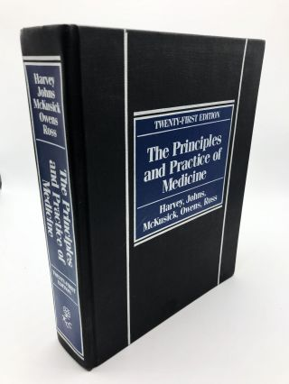 The Principles and Practice of Medicine. A. McGehee Harvey