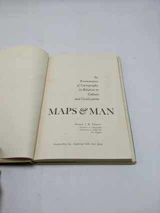 Maps & Man: An Examination of Cartography in Relation to Culture and Civilization