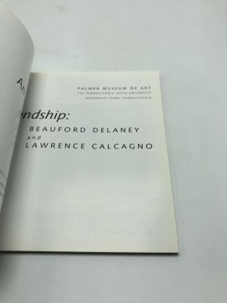 An Artistic Friendship: Beauford Delaney and Lawrence Calcagno
