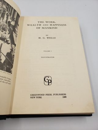 The Work, Wealth And Happiness Of Mankind (Volume 1)