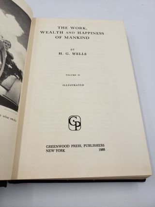 The Work, Wealth And Happiness Of Mankind (Volume 2)